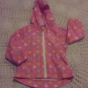 Cat & Jack Baby Girl Hooded Windbreaker
